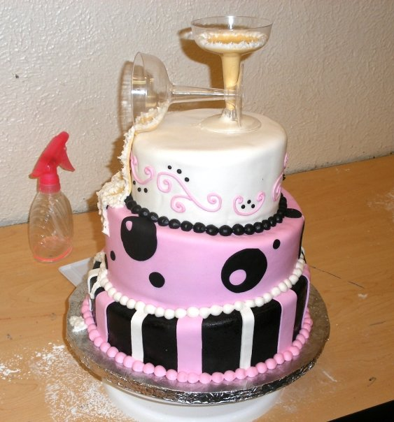 topsy turvy cake instructions