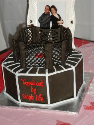 UFC Groom's Cake