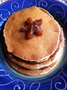 Apple Butter Pancakes