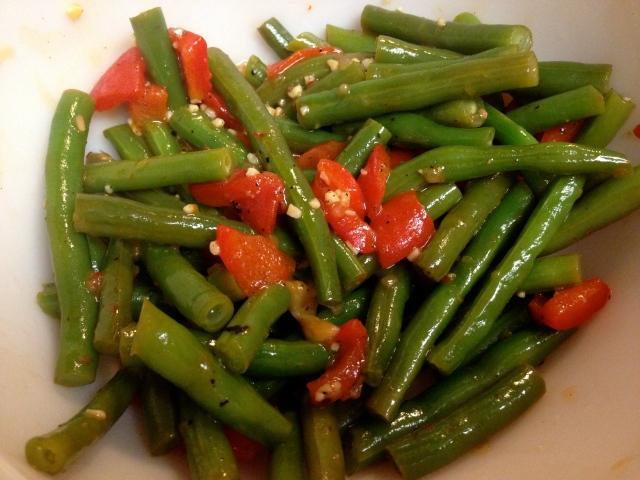Li'l Bit Savory:  Italian Green Beans