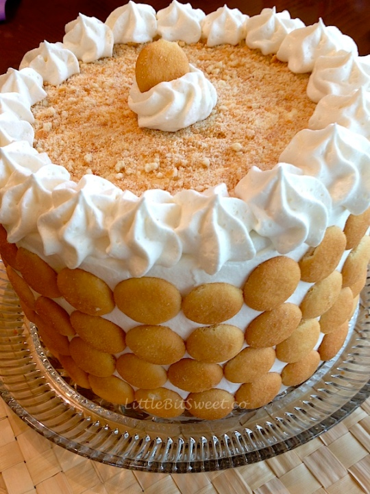 Banana Pudding Condensed Milk Pound Cake Recipe