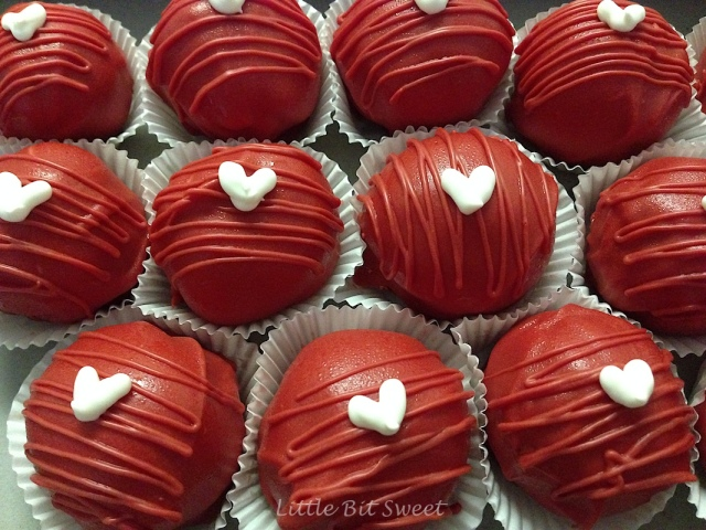 Strawberry Cake Balls
